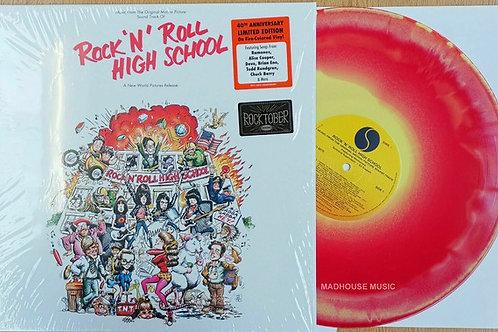 Rock 'N' Roll High School 40th Anniversary Red Vinyl Album Cover