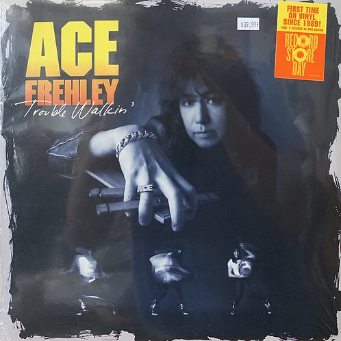 Ace Frehley: Trouble Walkin' Vinyl Record (Coloured Vinyl)