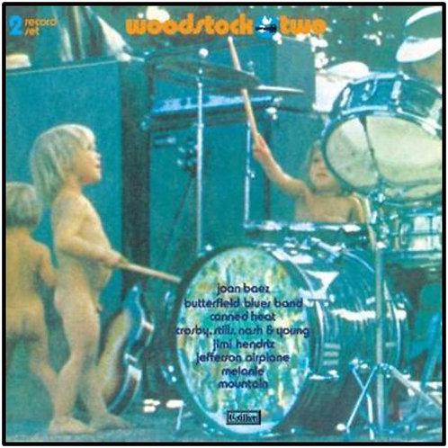 Woodstock Two 50th Anniversary Record (Orange & Green Vinyl)