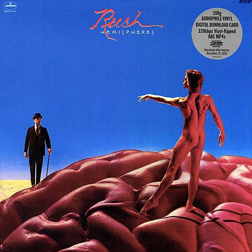Rush: Hemispheres Vinyl Record (200gr) Front Cover
