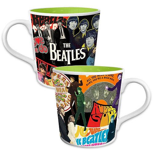 Beatles, The: Album Collage Coffee Mug