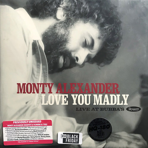 Monty Alexander – Love You Madly, Live at Bubba's