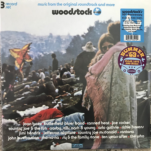 Woodstock Soundtrack Front Cover