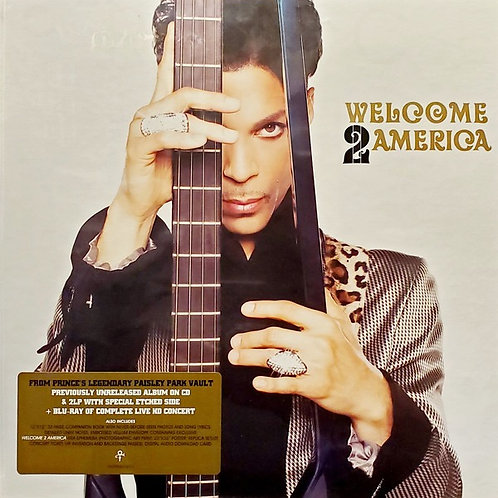 Prince: Welcome 2 America Deluxe Edition 2LP/1 CD/ Blue Ray