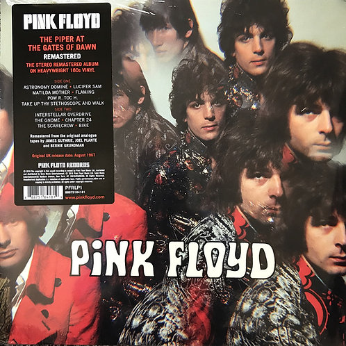 Pink Floyd: The Piper At The Gates Of Dawn Vinyl Record Front Cover