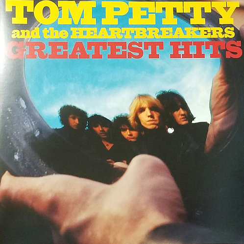 Tom Petty Greatest Hits vinyl record front cover