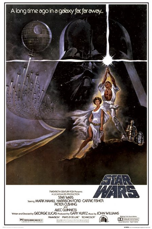 Star Wars Long Time In A Galaxy  Far Far Away Movie Poster