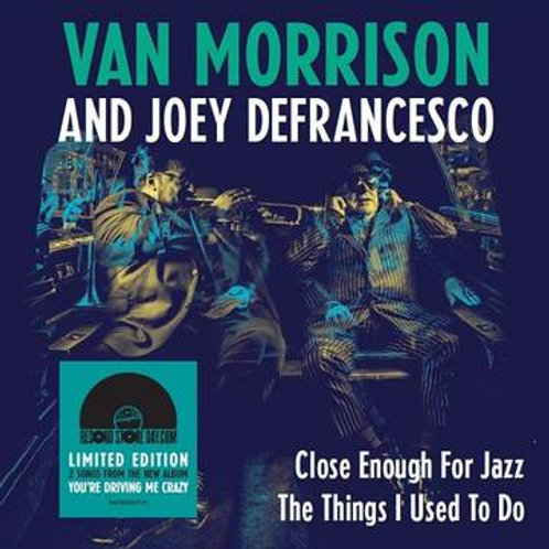 VAN MORRISON JOEY DEFRANCO Record Store Day back to back