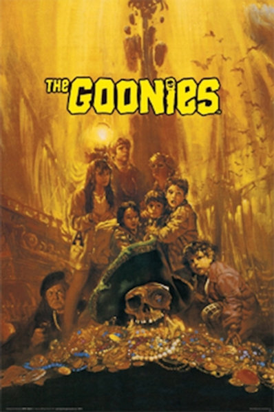 Goonies, The: Movie Poster