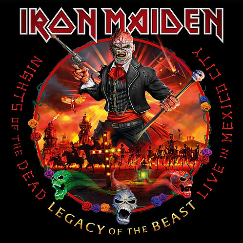 Iron Maiden: Nights Of The Dead  Legacy Of The Beast Live in Mexico City Record