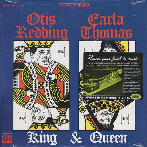 Otis Redding Carla Thomas: King & Queen Vinyl Record