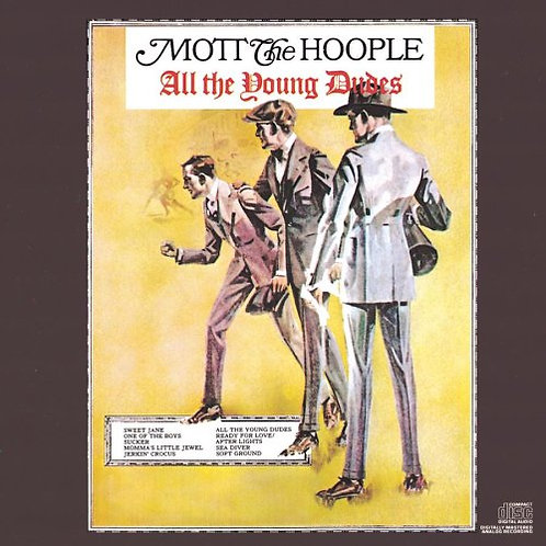 Mott The Hoople: All The Young Dudes Vinyl Record