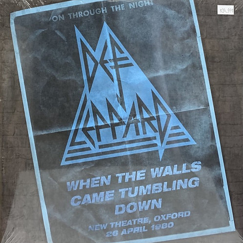 Def Leppard/ When The Walls Came Tumbling Down Vinyl Record