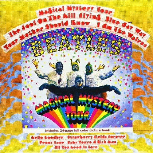 The Beatles: Magical Mystery Tour Vinyl Record