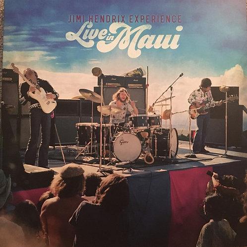 Jimi Hendrix: Live In Maui Vinyl Record & Blue Ray