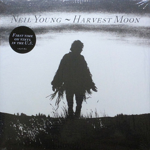 Neil Young Harvest Moon front cover