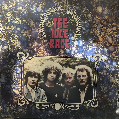 The Idle Race: Schizophrenic Psychedelia Vinyl Record front cover