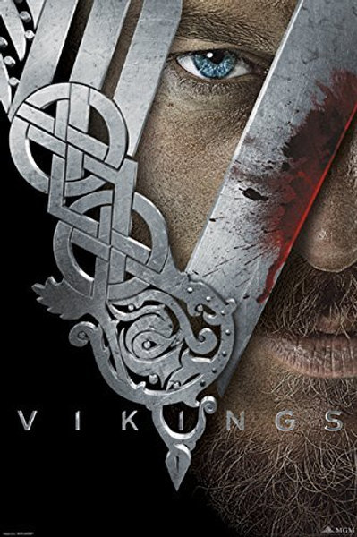 Vikings  Face Poster