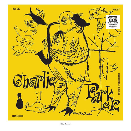 The Magnificent Charlie Parker Vinyl Record (Yellow Vinyl) Record Store Day Black Friday