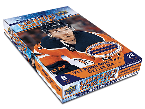 2020-21 Upper Deck Hobby Boxes