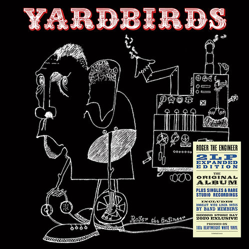 Yardbirds: Roger The Engineer Vinyl Record
