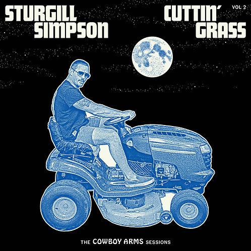 Sturgill Simpson: Cutting Grass Vol.II  Blue Swirl Vinyl Record Indie Store