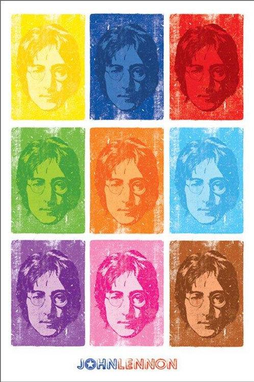 John Lennon Andy Warhol Poster