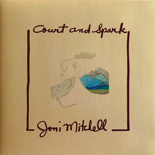 Joni Mitchell: Court and Spark Vinyl Record