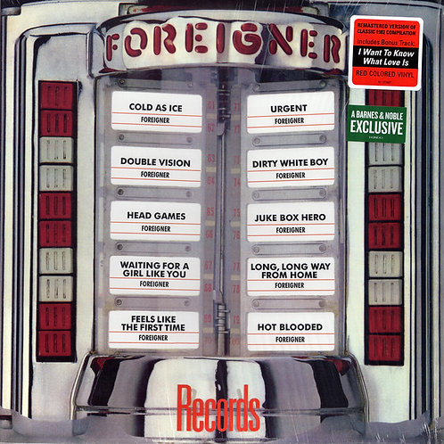 Foreigner Re4cords front cover