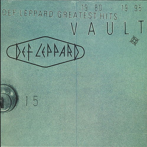 Def Leppard Greatest Hits Vault Greatest Hits Front cover
