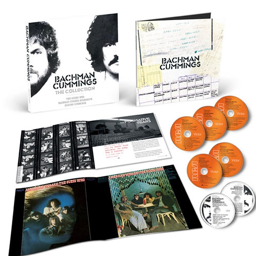 Bachman/ Cummings: The Collection- Music of The Guess Who/BTO CD Box Set