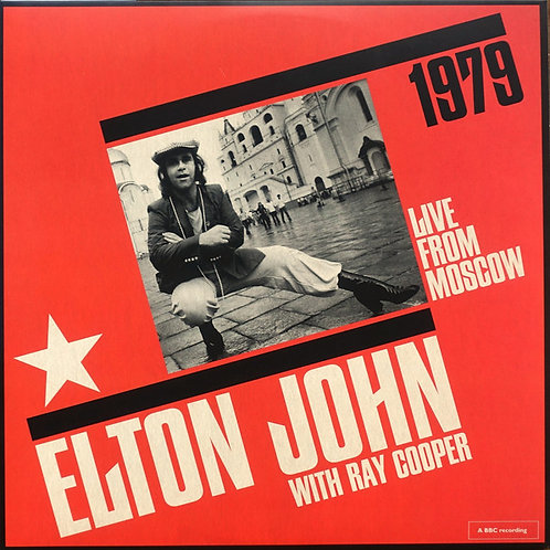 Elton John Live In Moscow front cover RSD