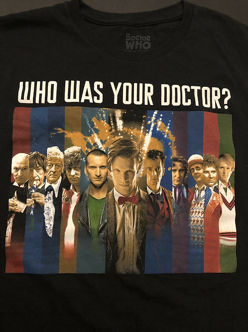 Dr.Who: Who's Your Doctor T-Shirt