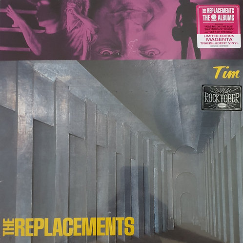 The Replacements: Tim Vinyl Record (Magenta Vinyl) Front Cover