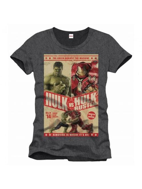 Marvel Hulk vs. Hulk Buster T-Shirt