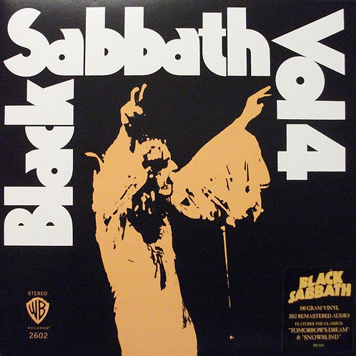 Black Sabbath Vol.4 front cover