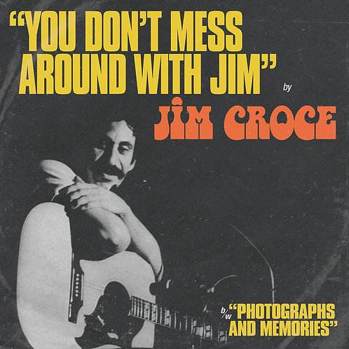 """Jim Croce """"You Don't Mess Around With Jim"""" / """"Operator Vinyl Record"""