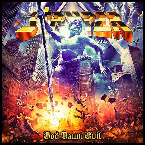 Stryper God Damn Evil Vinyl Record (Netflix)