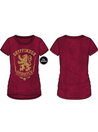 Harry Potter Gryffindor Quidditch Scoop T-Shirt