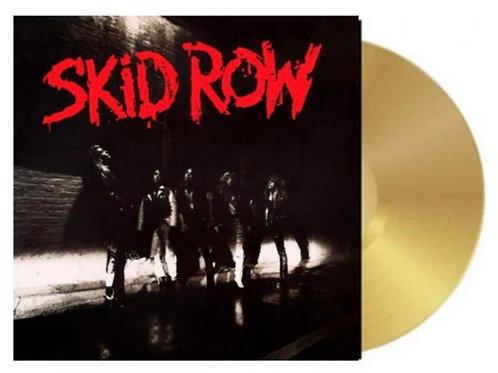 Skid Row Gold Vinyl Record