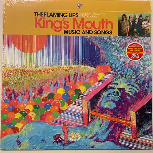 The Flaming Lips: King's Mouth Music and Songs Vinyl Record Front Cover