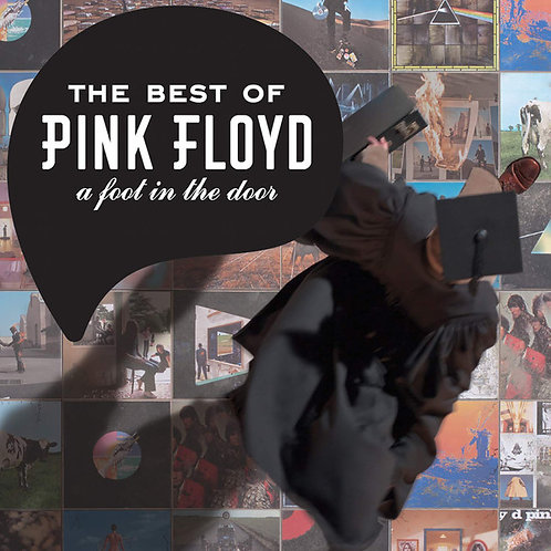 The Best Of Pink Floyd A Foot In The Door vinyl record front cover