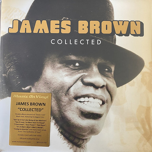 James Brown: Collected Double Vinyl Record (MOV)