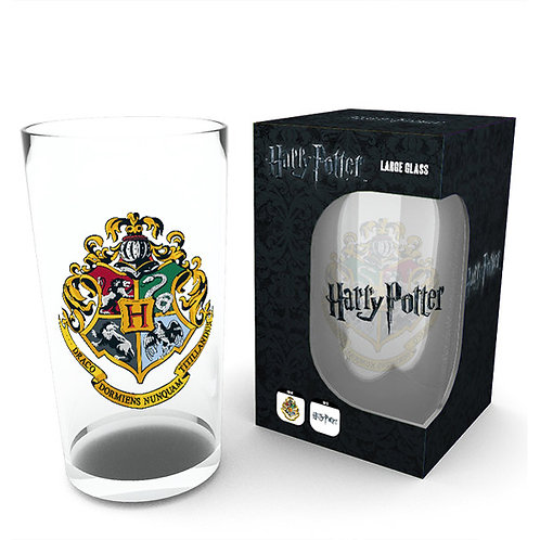 Harry Potter Hogwarts Crest Pint Glass
