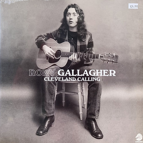 Rory Gallagher: Cleveland Calling Vinyl Record RSD