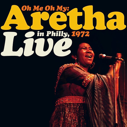 Aretha Franklin: Live In Philly, 1972 Vinyl Record