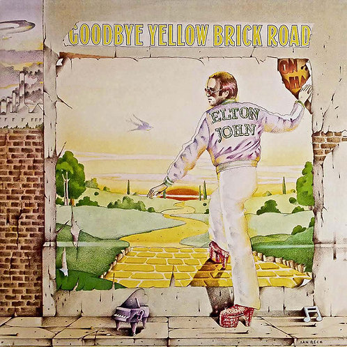 EltonJohn: Goodbye Yellow Brick Road Vinyl Record