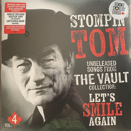 Stompin' Tom Connors: Unreleased Songs From The Vault Collection Vinyl Record