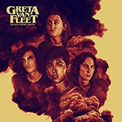 Greta Van Fleet Black Smoke Rising EP vinyl record