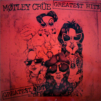 Motley Crue: Greatest Hits 2 lp 180gr Vinyl Record